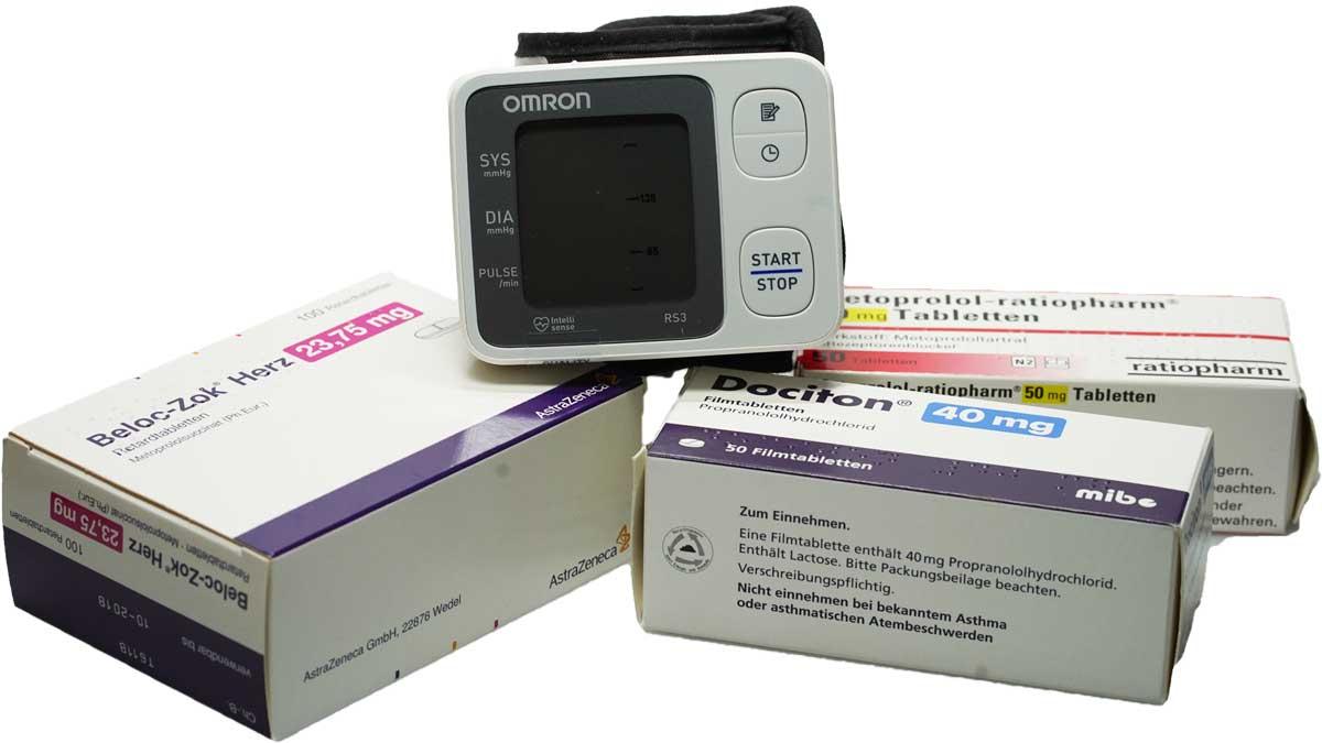 Blutdruck Medikamente