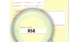 ICD-10 Diagnoseschlüssel B58