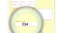 ICD-10 Diagnoseschlüssel C14