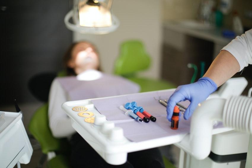 Die Behandlung eines Zahnnervs