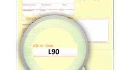 ICD-10 Diagnoseschlüssel L90