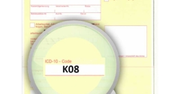 ICD-10 Diagnoseschlüssel K08