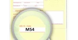 ICD-10 Diagnoseschlüssel M54